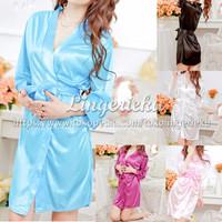 Baju Tidur Wanita Terlaris Model Lingerie Kimono Jepang BTK16030304
