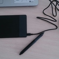 HUION 420 Digital Drawing Tablet Pentab OSU Alternatif Wacom