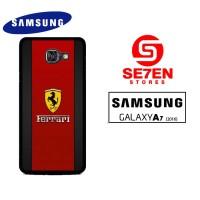 Ferrari logo Casing Hp Samsung A7 2016 Custom Case Hardcase