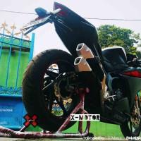 Standar Paddock tipe Bulat Racing Honda CBR250RR