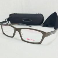 Jual Frame Kacamata Minus Oakley Ducati Trench Pria Coklat Premium Ter