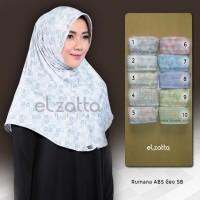 Jual ELZATTA Hijab Bergo Rumana ABS Geo SB Kerudung Jilbab Instan Terbaru Murah