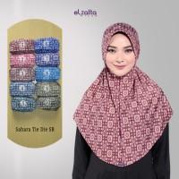 Jual ELZATTA Hijab Bergo Sahara Tie Die SB Kerudung Jilbab Instan Terbaru Murah