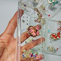 jelly case blink swarovski kupu butterfly xiaomi mi max redmi 3 pro