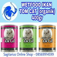 Jual TOM CAT Wetfood Organik (makanan kucing basah) Murah