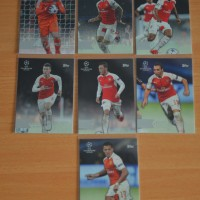 2016 Arsenal Kartu Bola Topps Liga Champion