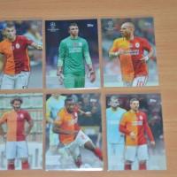 2016 Galatasaray Kartu Bola Topps Liga Champion