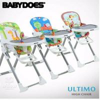 BABY DOES BabyDoes Ultimo High Feeding Chair Kursi Makan MPASI Bayi