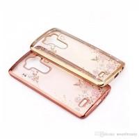 Xiaomi Redmi 4 Prime Silicone Diamond Soft Case TPU Flower casing