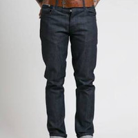 Special Price! Nudie Jeans Slim Fit Grim Tim Dry Pure Indigo Selvage