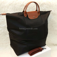 EXCLUSIVE Long Champ Pliage Expandable Mirror Quality Bag LongChamp Ta