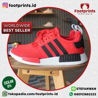 Adidas NMD R1 Red Black (BB2885) 100% Original