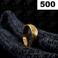 Yaxiya cincin perhiasan imitasi lapis emas aksesoris gold 18k 500