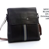Tas Mont Blanc Selempang Flap Leather Semi Premium 623-1