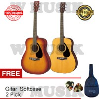 Gitar Akustik Yamaha F 310 (Tersedia 2 Warna) + Sofcase & 2 Pick