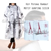 [MOTIF] KEP POTONG MOTIF GUNTING SISIR / KEEP ALAS PANGKAS RAMBUT