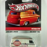 Hot Wheels Dodge A100 Double Bubble White