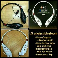 Headset LG bluetooth sport stereo Bisa telephone & terima telephone