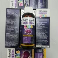 Sambucol Liquid 120 For Kids Cold dan Flu , Bronchitis & Croup