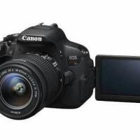 KAMERA CANON EOS KISS X7i KIT 18-55 STM (SAMA DENGAN CANON 700D)