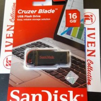 Jual sandisk cz50 flash disk usb drive 16gb flashdisk 16 gb cruzer blade Murah