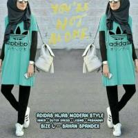 Adidas Hijab set model 4in 1