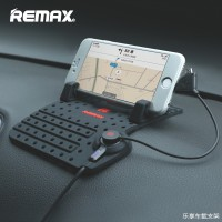 Remax Super Flexible Car Holder with Micro USB & Lightning Charger