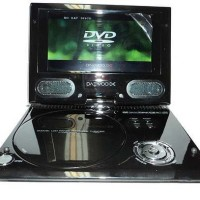 DVD Portable DAEWOO 9,5 Inch 3D Free Kaca Mata