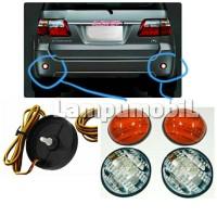 Lampu Reflektor Bumper Belakang Toyota Fortuner 2005-2010 (SET)