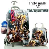 Jual BIG SALE TROLLY ANAK 5IN1 3D STOCK TERBATAS Murah