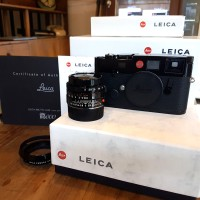 New M6 black paint 2000 dragon limited edition+Leica 35 F2 black paint