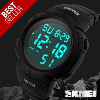 SKMEI Pioneer Sport Watch 1068 Original Water Resistant 50M - Black