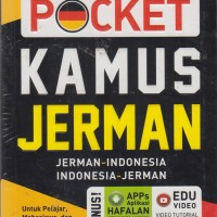 MASTER POCKET KAMUS JERMAN oleh Tim Pusat Bahasa Salemba