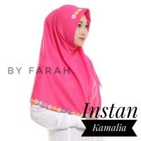 Hijab/ Kerudung/ Jilbab Syar'i Instan Kamelia/ Kamalia