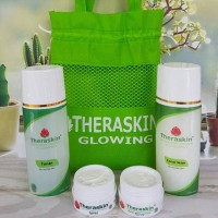 Jual CREAM THERASKIN PAKET GLOWING Murah