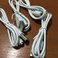 kabel konektor powerbank samsung /asus / oppo / iphone tanpa connector