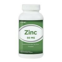 GNC Zinc 50 mg - 250 vegetarian tablets