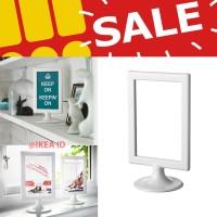 Frame Foto / Bingkai Foto Putih, 2 sisi murah berkualitas, IKEA TOLSBY