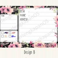 Stiker pengiriman | label cantik buat pengiriman toko online | D2