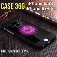 Jual CASE 360 Full Protective iPhone 6, 6 PLUS HARDCASE FREE Tempered Glass Murah