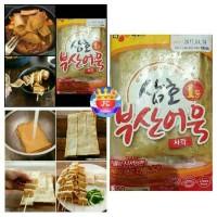 Korean CJ Eomuk Odeng Fish Cake 1KG (20 Selai) Kue Ikan Oden Korea