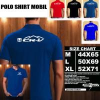 Polo shirt Otomotif Mobil Honda CR-V GUNUNG Font/Kaos Kerah/Baju Kerah