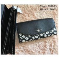 Coach Black Multi Wallet - Dompet Wanita Original W295