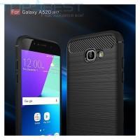 Case Ipaky Carbon Fiber Samsung Galaxy A5 2017 Soft Series