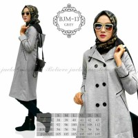Jaket Muslimah Long Coat Believe BJM 13