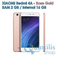 harga Xiaomi Redmi 4a 2gb/16gb - Rose Gold - Baru New - Garansi Distributor Tokopedia.com