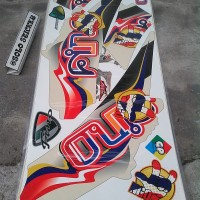 Striping Sticker Lis Motor Mio Fino F1 Ngo Thailook 3