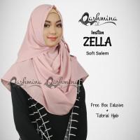 Jilbab Pashmina Instan Langsung Pakai Terbaru Zella Soft Salem