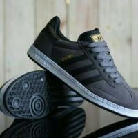 harga Free Bonus !!! Sepatu Murah Casual Adidas Samba Import Suede (grey) Tokopedia.com