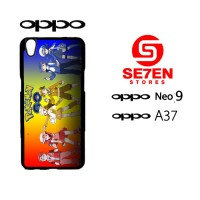 Custom Casing HP Oppo Neo 9 (A37) Pokemon Go wallpaper 3 Hardcase Cove